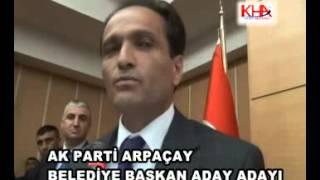 ak parti arpaçay belediye başkan aday adayı turgay bulut www kha com tr kafkas haber ajansı