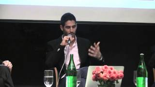 Ahmed Shihab-Eldin | Twiplomacy conference at Italian Embassy in Washington DC