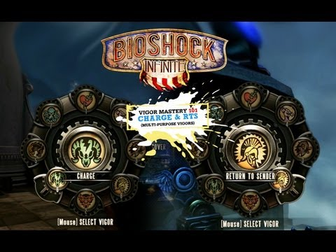 BioShock Infinite Vigor Tips & Strategy 101: Charge & Return to Sender (Multi-purpose Vigors)