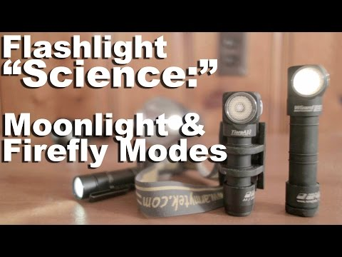 Moonlight and Firefly Modes on Flashlights. What those about?