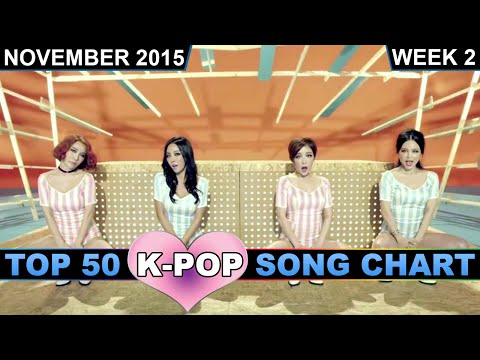 K-POP SONG CHART [TOP 50] NOVEMBER 2015 (WEEK 2)