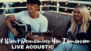 "Download Lagu Alli Simpson (feat. Cody Simpson) - ""I Won't Remember You Tomorrow"" Live & Acoustic Gratis STAFABAND"