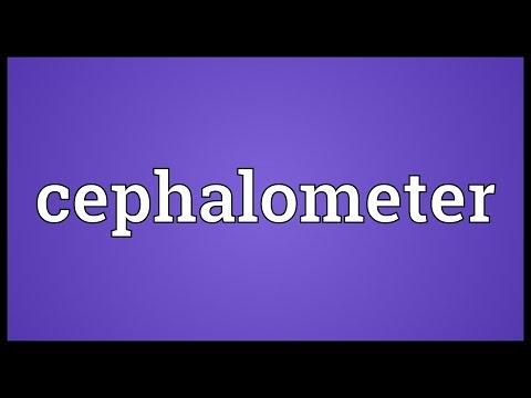 Header of cephalometer