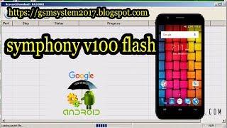symphony v100 flash