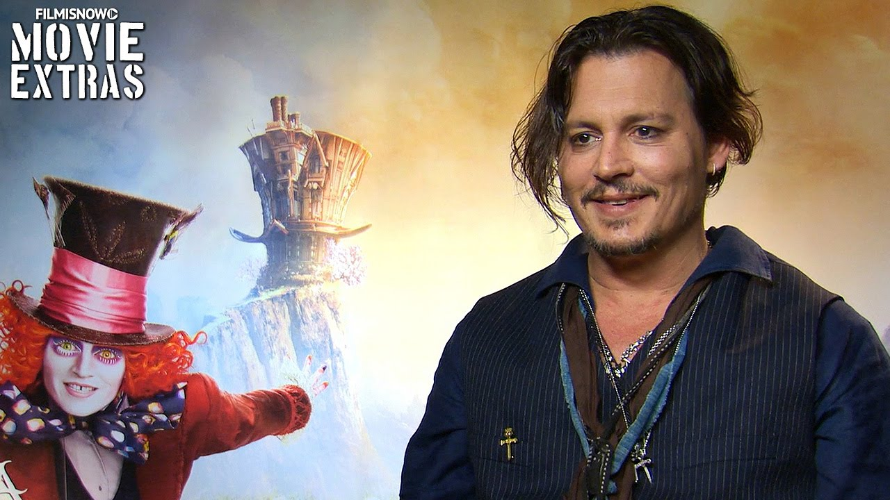 Johnny Depp talks about Alice Through the Looking Glass (2016)