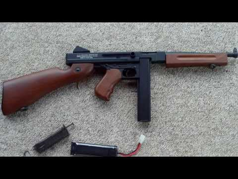 Airsoft King Arm's Thompson M1A1 AEG Review Max details