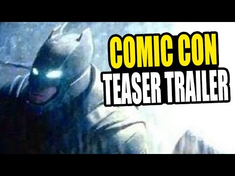 BATMAN v SUPERMAN Comic Con 2014 Teaser Trailer - Review