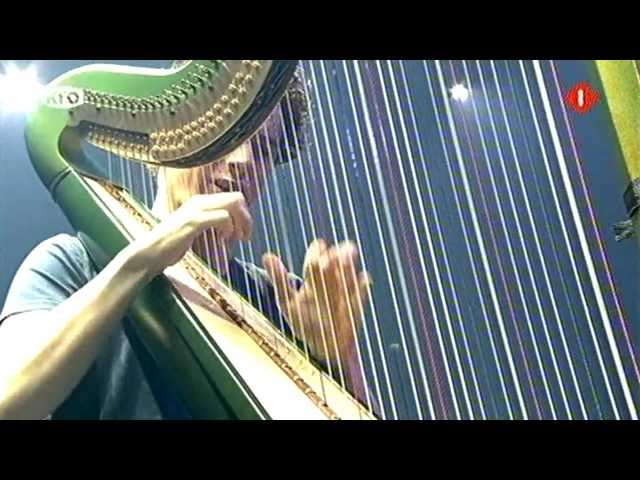 Remy van Kesteren - Allegro for dancing harp - Night of the Proms tv kerstspecial 23-12-12 HD