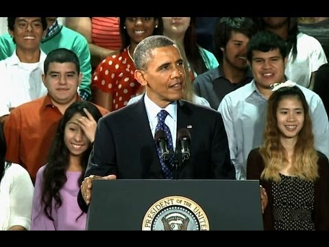 President Obama Speaks at Manor New Technology High School