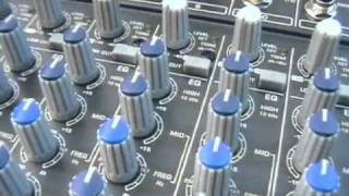 Behringer sx2442fx mixer tutorial/review - 1/2