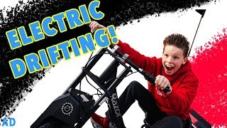 Bro vs Bro - Electric Drift Trike!