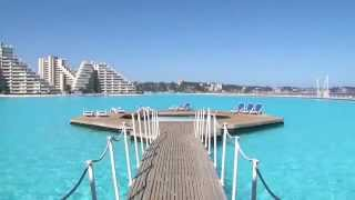 The World Largest San Alfonso Del Mar Resort Swimming Pool
