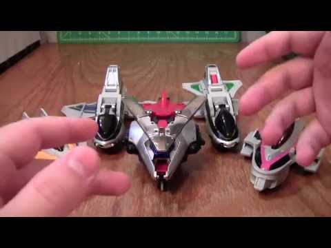 Power Rangers Time Force Megazord Review