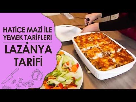 Lazanya Tarifi - Lazanya Yemeği Videosu