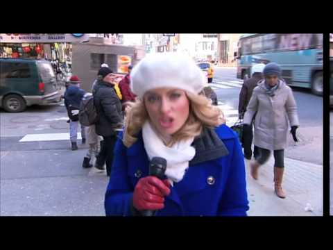 'Polar Vortex' hits US delivering a deep freeze reports Lynda Kinkade