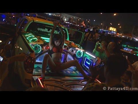 Pattaya 2014 Coyote Girls Dancing On Cars At Burapa Bike Week Part 3 video