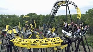 Lost Gravity at Walibi Holland on-ride POV and off-ride promotional video