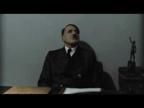 Hitler is informed about the Hitler Downfall Parodies