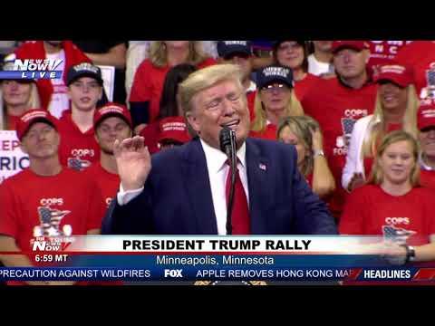 FULL RALLY: President Trump rally in Minneapolis, MN