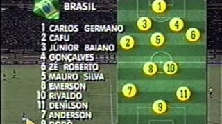 Brasil 4x2 Equador - 1997 - Amistoso