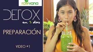 DETOX de jugos en 3 dias-Introduccion -3 day Juice detox-INTRO