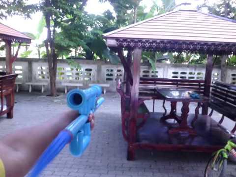 Review ปืนอัดลมท่อ ลูกโป่ง By akat