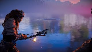 Mysterious Whirlpool Secret and Exploring off the Map - Horizon Zero Dawn