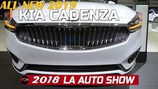 2019 Kia Cadenza Exterior and Interior Walk around   2018 LA Auto Show