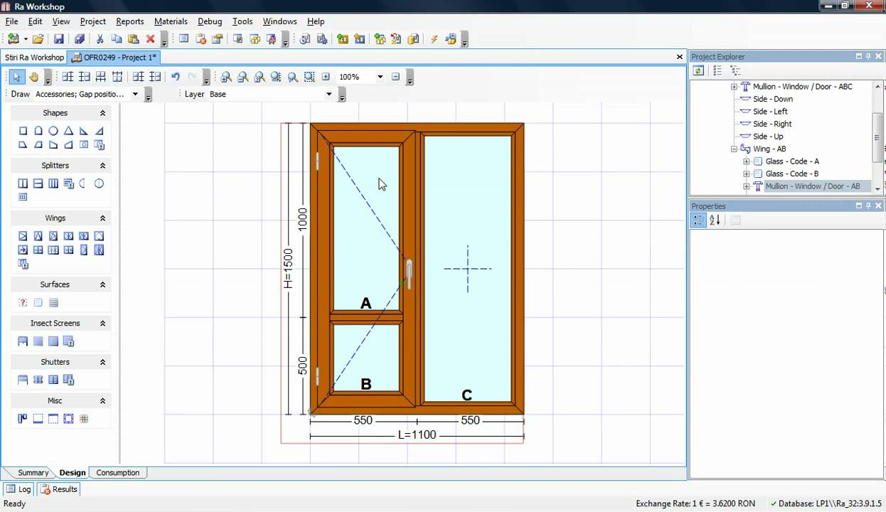 Ra Workshop 3.2 - Window Quotations - Window & Door Design