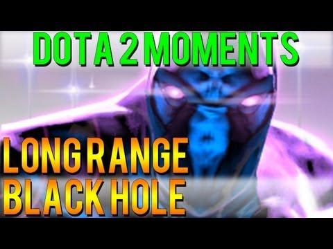 Dota 2 Moments - Long Range Black Hole