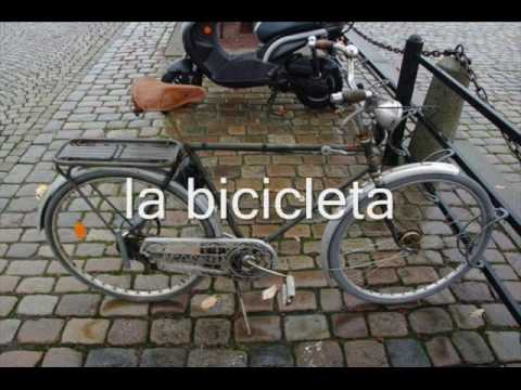 Hiszpański - Lekcja Video - środki Transportu