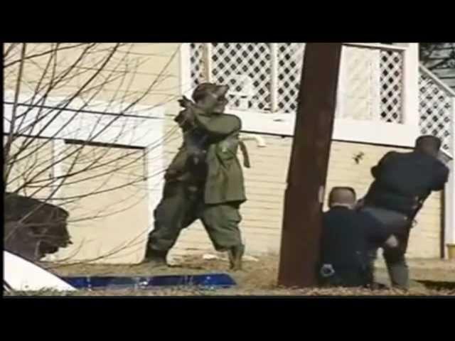 Ninja vs Policías