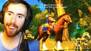 Asmongold Gets His FIRST MOUNT in the Classic WoW Beta