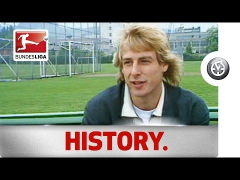 Jürgen Klinsmann - Bundesliga Goal-Getter and Coach