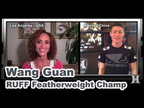 RUFF Featherweight Champion Wang Guan on MMA in China