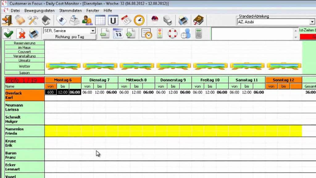 Roster Excel Template Image collections - template design free download