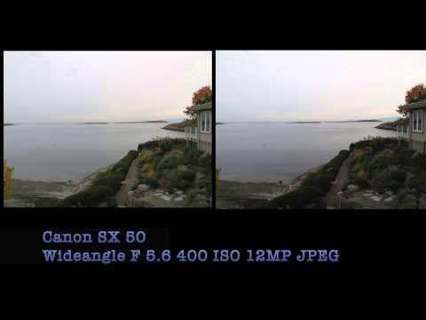 Canon SX50 HS vs SX40 HS