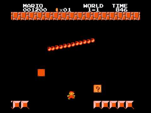Super Mario Frustration (forever) - Super Mario Frustration - The first blocks (forever) (NES) - User video