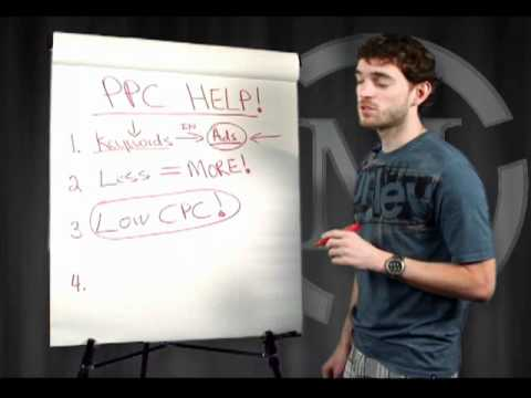 Anthony Morrison Teaches Pay Per Click Tips
