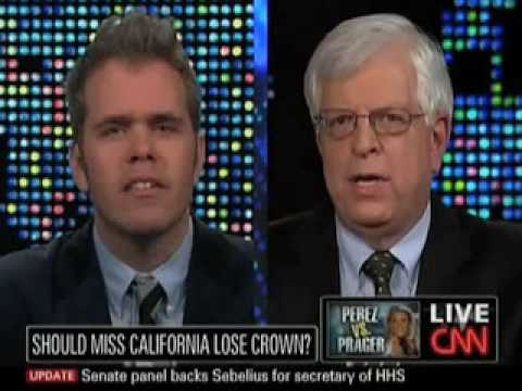 Dennis Prager Debates Perez Hilton On Same-Sex Marriage