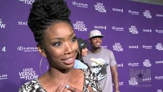 "Exclusive! Maxwell Makes Brandy Blush: ""I Can't Keep My Composure!"" - HipHollywood.com"