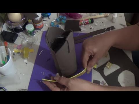 DIY Como hacer Bota dulcera de Woody