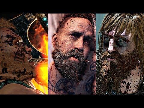 GOD OF WAR 4 - All God Deaths Scenes