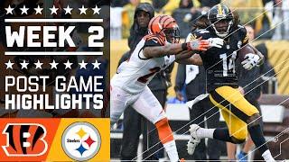 Bengals vs. Steelers   NFL Week 2 Game Highlights