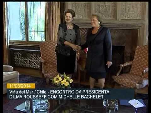 Dilma Rousseff se reúne com Michelle Bachelet no Chile