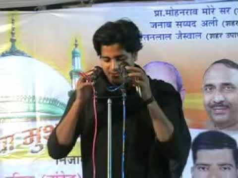 Imran Pratapgarhi About Akbaruddin Owaisi In Purna Mushaira Uploaded By Ahtesham Khan video