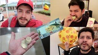 1 DIA COMIENDO con SOLO $100 en COSTA RICA