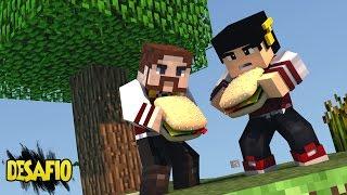 Minecraft: SKY WARS - DESAFIO PÃO COM CEBOLA ‹ AM3NIC ›