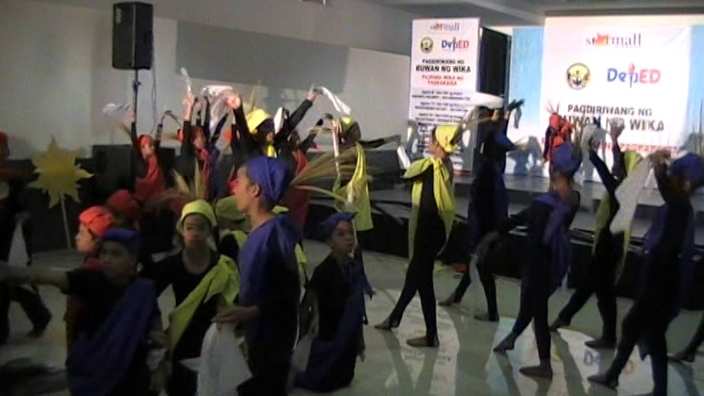 Wikang Filipino sa pambansang kalayaan AES division contest - YouTube