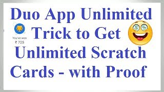 Google Duo Unlimited Trick to get Unlimited Scratch Cards | Google Duo Refer & Earn